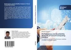 Performance and Availability Analysis of Cloud Computing Centers kitap kapağı