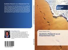 Qualitative Research as an Empowerment Tool kitap kapağı
