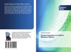 Обложка Gauge Integrals over Metric Measure Spaces