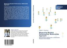 Buchcover von Measuring Student Performance: Multivariate Approach
