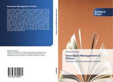 Bookcover of Innovation Management in Ghana