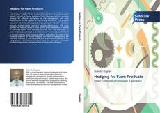 Copertina di Hedging for Farm Products