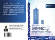 Обложка Housing Development Financing system: Performances & Challenges