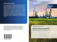 Bookcover of Quality Integral Regulator