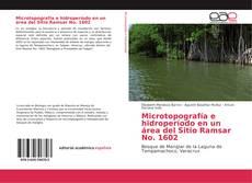Bookcover of Microtopografía e hidroperíodo en un área del Sitio Ramsar No. 1602