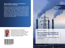 Buchcover von Service Delivery Analysis of the Ethiopian Electric Power Corporation