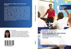 Bookcover of Role evolution of high school homeroom teachers