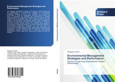Bookcover of Environmental Management Strategies and Performance