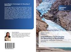 Bookcover of Cost-Effective Technologies for Recycling of Wastewater