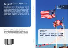 Buchcover von Generational Transmission of PTSD among Military Families