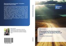 Bookcover of Phenomenal Consciousness:  A Conative-Evaluative Point of View