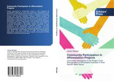 Portada del libro de Community Participation In Afforestation Projects