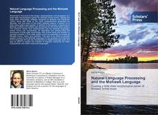 Natural Language Processing and the Mohawk Language的封面