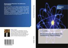 Bookcover of Photochemical Reactions Via Zwitterionic Intermediates