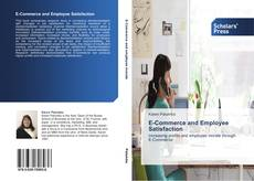 Buchcover von E-Commerce and Employee Satisfaction