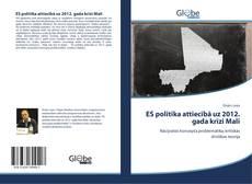 Portada del libro de ES politika attiecībā uz 2012. gada krīzi Mali