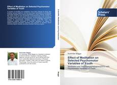 Buchcover von Effect of Meditation on Selected Psychomotor Variables of Youth