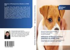 Copertina di Influence of Paramyxovirus Infection on DH82 cells