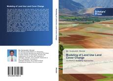Buchcover von Modeling of Land Use Land Cover Change