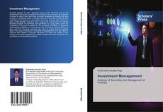 Capa do livro de Investment  Management