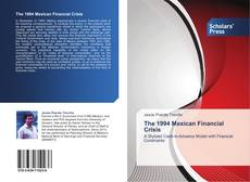 Bookcover of The 1994 Mexican Financial Crisis