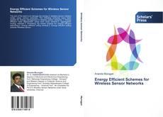 Capa do livro de Energy Efficient Schemes for Wireless Sensor Networks