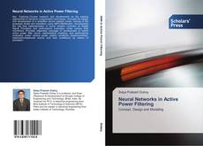 Bookcover of Neural Networks in Active Power Filtering