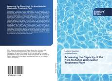 Bookcover of Accessing the Capacity of the Kwa-Nobuhle Wastewater Treatment Plant