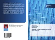 Copertina di Studies On Aryl Amino Methyl Derivatives