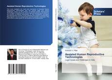 Bookcover of Assisted Human Reproductive Technologies