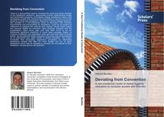 Bookcover of Deviating from Convention