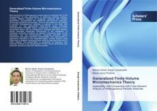 Bookcover of Generalized Finite-Volume Micromechanics Theory