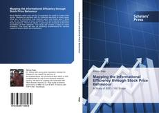 Bookcover of Mapping the Informational Efficiency through Stock Price Behaviour
