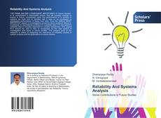 Bookcover of Reliability And Systems Analysis