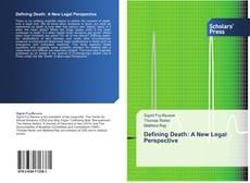 Copertina di Defining Death: A New Legal Perspective