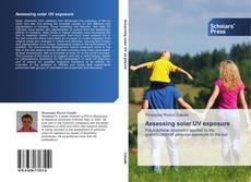 Capa do livro de Assessing solar UV exposure