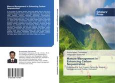 Buchcover von Manure Management in Enhancing Carbon Sequestration