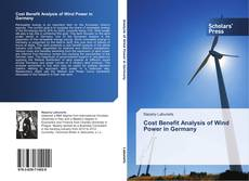 Buchcover von Cost Benefit Analysis of Wind Power in Germany