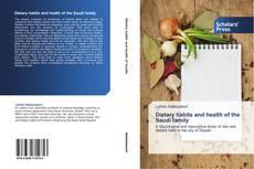 Обложка Dietary habits and health of the Saudi family