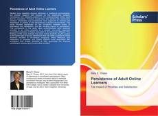 Copertina di Persistence of Adult Online Learners