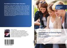 Capa do livro de Foundations of Online Higher Education