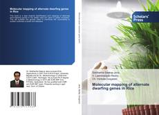 Bookcover of Molecular mapping of alternate dwarfing genes in Rice