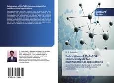 Capa do livro de Fabrication of CuFe2O4 photocatalysts for multifunctional applications