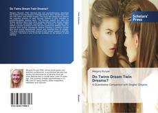 Capa do livro de Do Twins Dream Twin Dreams?
