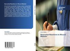Buchcover von Nonverbal Reactions to Wound Malodor