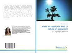 Vivez en harmonie avec la nature en apprenant kitap kapağı