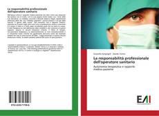 La responsabilità professionale dell'operatore sanitario kitap kapağı
