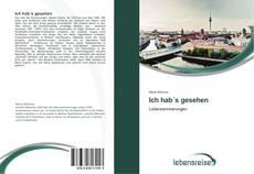 Capa do livro de Ich hab´s gesehen
