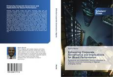 Capa do livro de Enhancing Corporate Governance and Implications for Board Performance