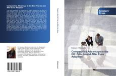 Buchcover von Comparative Advantage in the EU: Prior to and After Euro Adoption